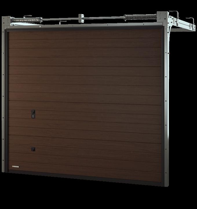 Porte de garage sectionnelle sur mesure moteur somfy - Porte de garage sectionnelle sur mesure ...