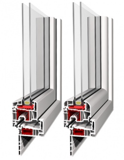 Fenêtre PVC -Aluplast– IDEAL 4000 Reno
