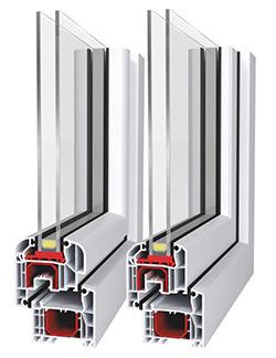 Fenêtre PVC -Aluplast – IDEAL 4000