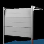 porte-de-garage-sectionnelle-traction-monoligne